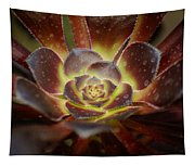 Glistening Glowing Garden Jewel Tapestry