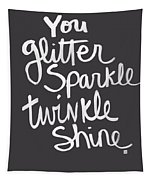 Glitter Sparkle Twinkle Tapestry