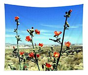 Globe Mallows Tapestry