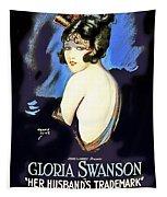 Gloria Swanson In Her Husband's Trademark 1922 Tapestry