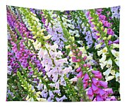 Glorious Foxgloves Tapestry