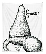 Glorious Gourds Tapestry
