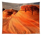 Glowing Desert Dragon Tapestry