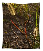 Glowing Foxtails Tapestry