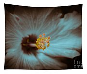 Glowing Hibiscus Tapestry