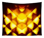 Glowing Honeycomb Tapestry