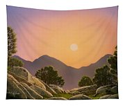Glowing Landscape Tapestry