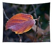 Glowing Leaf Tapestry