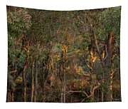 Glowing Trees Tapestry