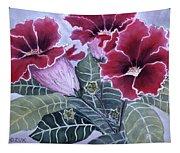 Gloxinias Tapestry