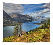 Goat Haunt Fall Foliage Tapestry