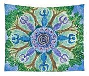 Goddesses Dancing Tapestry