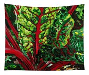 God's Kitchen Series No 7 Swiss Chard Tapestry