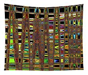 Going And Going Abstract Tapestry