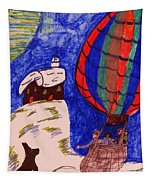 Going For A Ride Tapestry