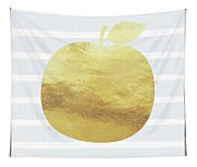 Gold Apple- Art By Linda Woods Tapestry