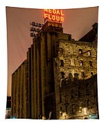 Gold Medal Flour Sign Tapestry