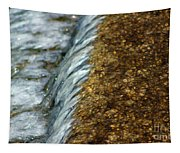 Gold Rush Abstract Tapestry