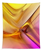 Golden Abstract 042711 Tapestry