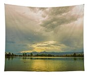 Golden Afternoon Tapestry