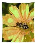 Golden Bee Tapestry