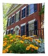 Golden Blooms At The Dahlonega Gold Museum Tapestry