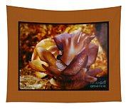 Golden Brown Wild Mushroom Tapestry