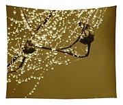 Golden Dewdrops Tapestry
