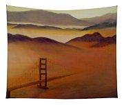 Golden Gate Fog Tapestry