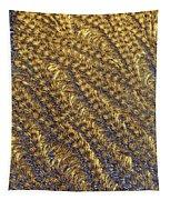 Golden Grains - Hoarfrost On A Solar Panel Tapestry