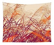 Abstract Pampas  Tapestry