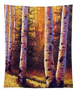 Golden Light Tapestry