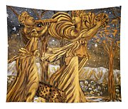 Golden Minstrels. Tapestry