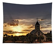 Golden Morning Light  Tapestry