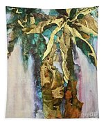 Golden Palm Tapestry