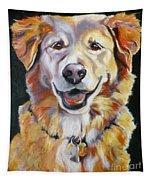 Golden Retriever Most Huggable Tapestry