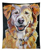 Golden Retriever Most Huggable Tapestry