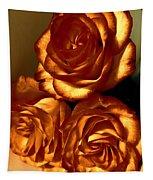 Golden Roses 3 Tapestry