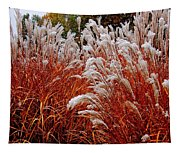 Golden Snow Tapestry