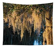 Golden Spanish Moss Tapestry