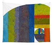 Golden Spiral Study Tapestry