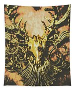 Golden Stag Tapestry