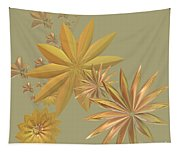 Golden Stars Tapestry