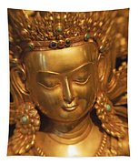 Golden Statue Tapestry