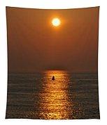 Golden Sun Tapestry