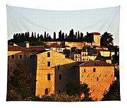 Golden Town Tapestry