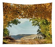Golden Tunnel Of Love Tapestry