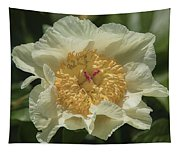 Golden Wings Peony Tapestry
