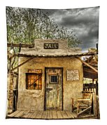 Goldfield Ghost Town - Jail  Tapestry