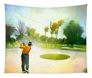 Golf At The Blue Monster In Doral Florida 02 Tapestry